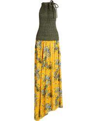 Loewe - X Paula's Ibiza Bird-print Maxi Dress - Lyst