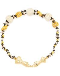 Heimat Atlantica - Eloise Shell-embellished Necklace - Lyst
