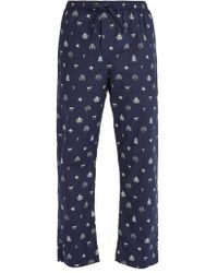 Derek Rose - - Pantalon de pyjama en coton Nelson 65 - Lyst