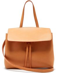 ccf0f2be9bb5 Mansur Gavriel Mini Calf-Leather Cross-Body Bag in Green - Lyst