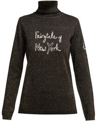 Bella Freud - X Kate Moss Fairytale Of New York Sweater - Lyst