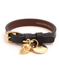 Alexander McQueen - Snake Cord Bracelet - Lyst