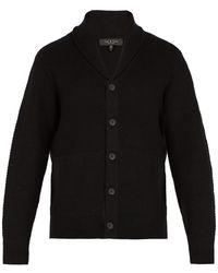 Rag & Bone - Textured Button Cardigan - Lyst