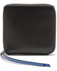Loewe - Rainbow Square Leather Wallet - Lyst