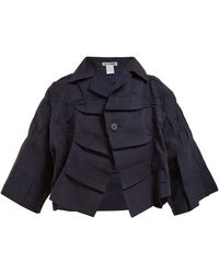 Issey Miyake - Press Creased Jacket - Lyst