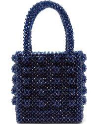 Shrimps - Antonia Sapphire Crystal Embellished Bag - Lyst