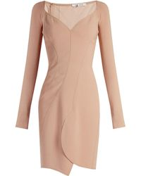 Givenchy - Sweetheart-neckline Crepe Dress - Lyst