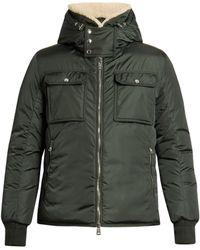 Moncler - Darwin Shearling-collar Down Coat - Lyst