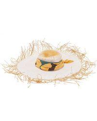 Jacquemus Foulard Straw Hat - Natural