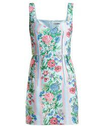 Emilia Wickstead - Judita Floral-print Cloqué Dress - Lyst