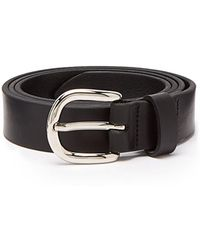 Isabel Marant - Zap Skinny Leather Waist Belt - Lyst
