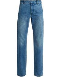 Tibi | Low-rise Straight-leg Jeans | Lyst