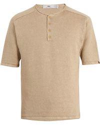 Inis Meáin - Short-sleeved Linen Top - Lyst