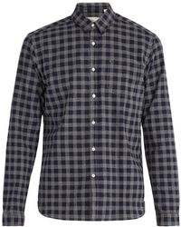 Oliver Spencer - New York Check Cotton Shirt - Lyst