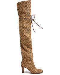 Gucci - Lisa Gg Supreme Boots - Lyst