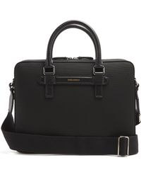 Dolce & Gabbana - Leather-trimmed Canvas Briefcase - Lyst