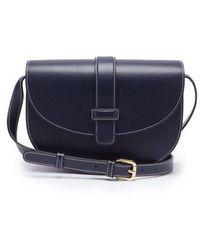 A.P.C. - Eloise Leather Cross-body Bag - Lyst