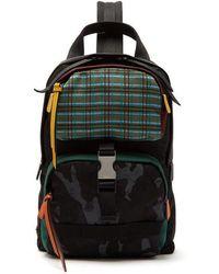 Prada - Single Strap Nylon Backpack - Lyst