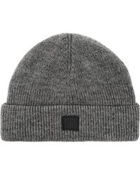 Acne Studios - Kansy Face Wool Blend Beanie Hat - Lyst