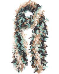 Missoni - Wool-blend Knit Scarf - Lyst