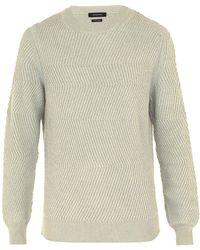 Ermenegildo Zegna - Crew Neck Cashmere Sweater - Lyst