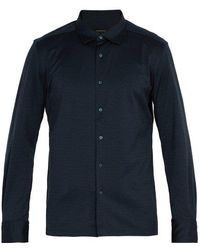 Ermenegildo Zegna - Single-cuff Cotton Shirt - Lyst