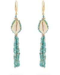 Isabel Marant - Seashell Tassel-earrings - Lyst