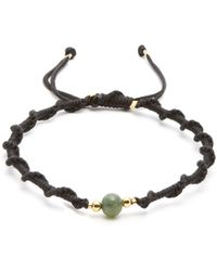 Black Dakini | Moss-agate And Gold-vermeil Bracelet | Lyst