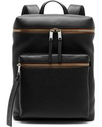 Burberry - London Leather Backpack - Lyst