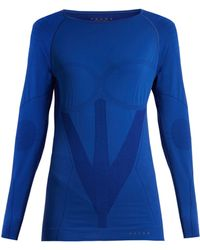 Falke - Long Sleeved Performance T Shirt - Lyst