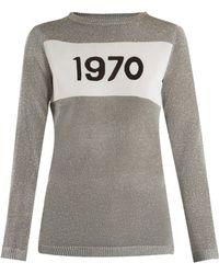Bella Freud - 1970 Intarsia-knit Jumper - Lyst