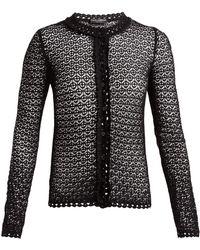 Dolce & Gabbana | Crochet-lace Cardigan | Lyst