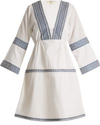 DAFT - Istanbul Embroidered Cotton Dress - Lyst