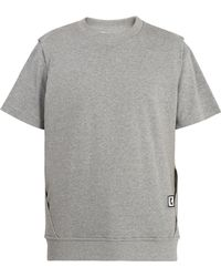 Wooyoungmi - Double-layered Cotton-jersey T-shirt - Lyst