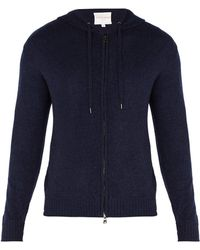 Derek Rose - Finley Hooded Zip-through Cashmere Sweatshirt - Lyst