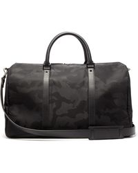 Valentino - Camouflage Technical Jacquard Holdall - Lyst