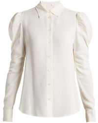 See By Chloé - Gather Detailed Shirt - Lyst