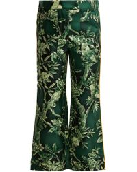 F.R.S For Restless Sleepers - Limos Ramage Silk Twill Trousers - Lyst