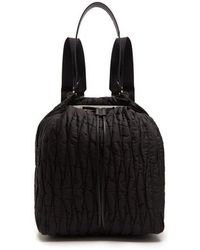 The Row - Backpack 11 Quilted Nylon Backback - Lyst