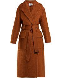 Loewe - X Charles Rennie Mackintosh Mohair Blend Coat - Lyst