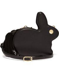 Hillier Bartley Bunny Tassel Leather Bag