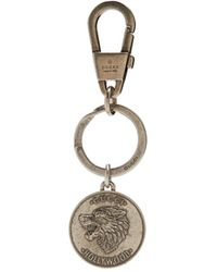 Gucci   Wolf And Logo-engraved Key Ring   Lyst