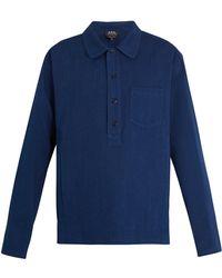 A.P.C. | Liquette Haddock Cotton-twill Shirt | Lyst