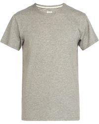 Rag & Bone - Base Cotton T-shirt - Lyst