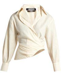 Jacquemus - Sabah Linen-blend Shirt - Lyst