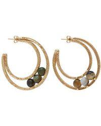 Rosantica By Michela Panero - Carramato Beaded Chain Earrings - Lyst