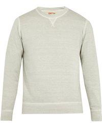 120% Lino - Linen And Cotton-blend Sweatshirt - Lyst