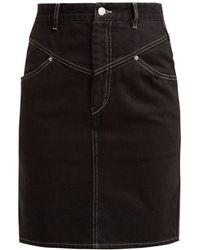 Isabel Marant - Lorine Denim Pencil Skirt - Lyst