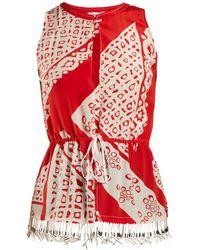 Altuzarra - Bourse Bandana Print Sleeveless Top - Lyst