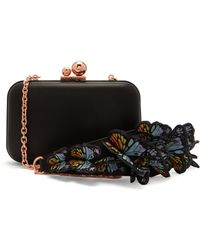 Sophia Webster - Vivi Leather Box Clutch - Lyst